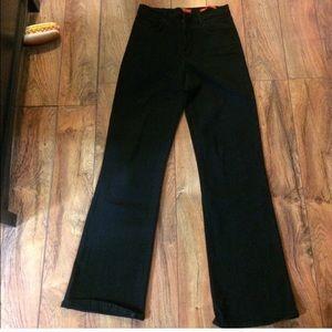 NYDJ tummy tuck black jeans